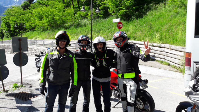 Immagini dei Tour Maida Moto Master 2017